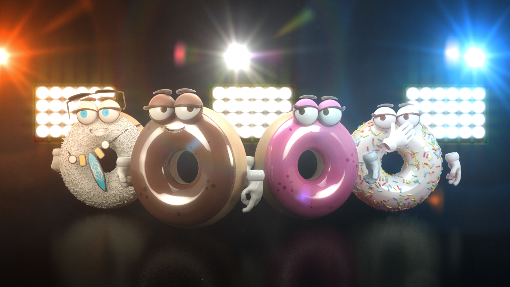 Character Animation : Mister Donuts